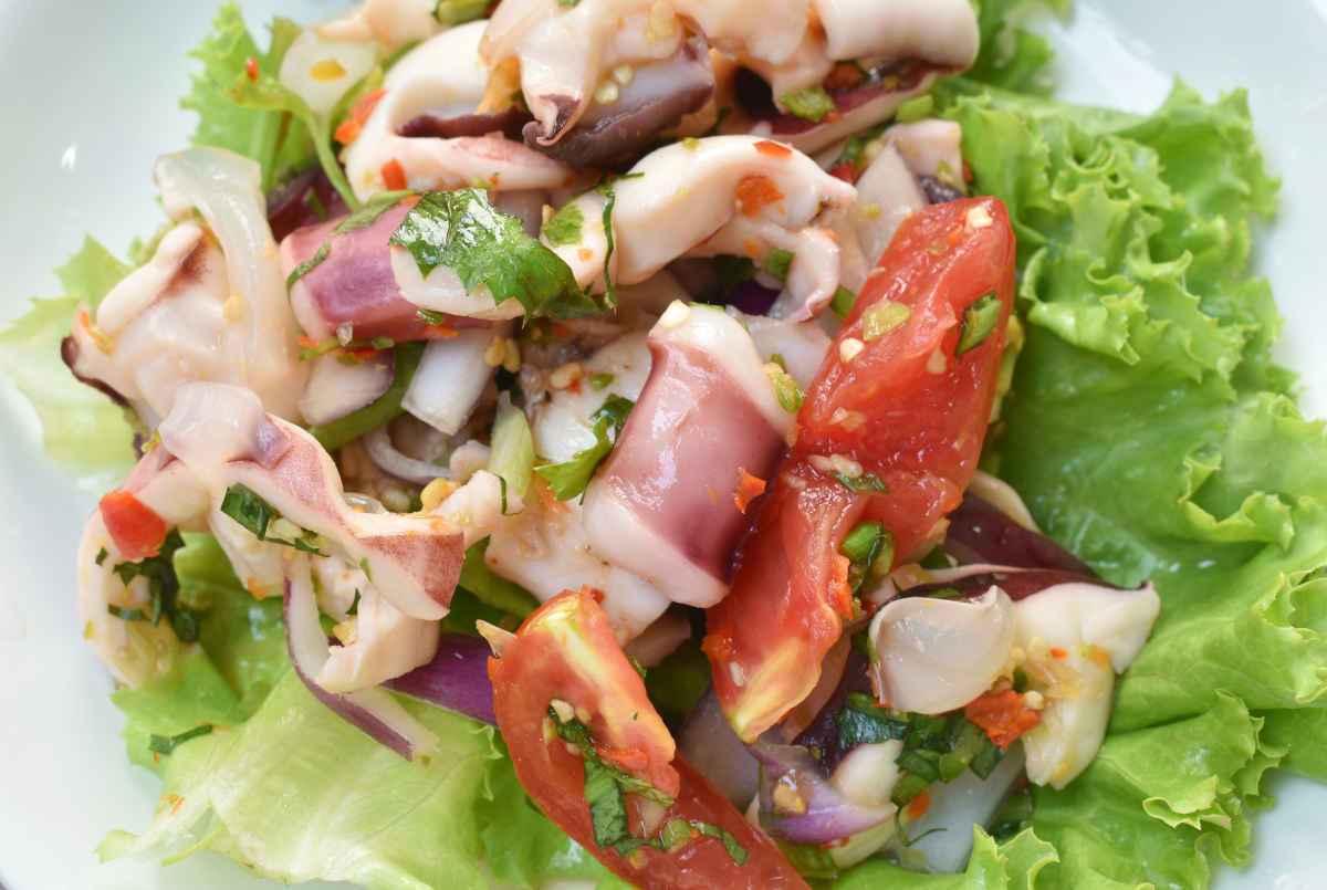 calamari alla provenzale con pomodoro