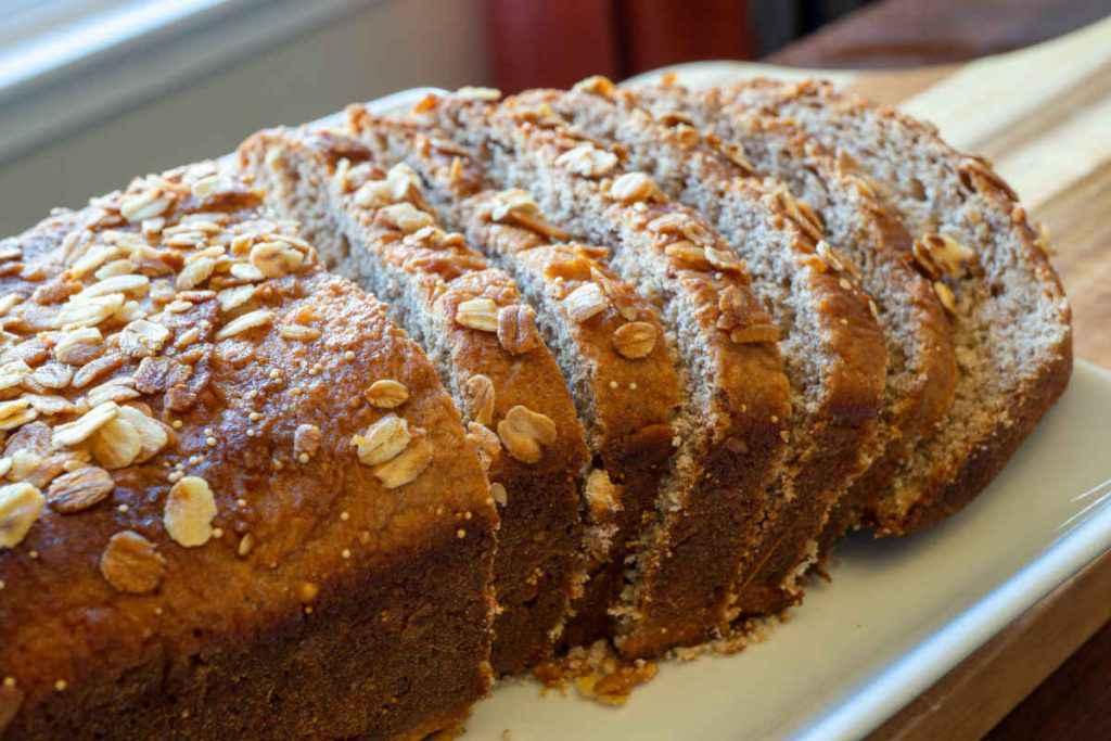 pane di quinoa e grano saraceno