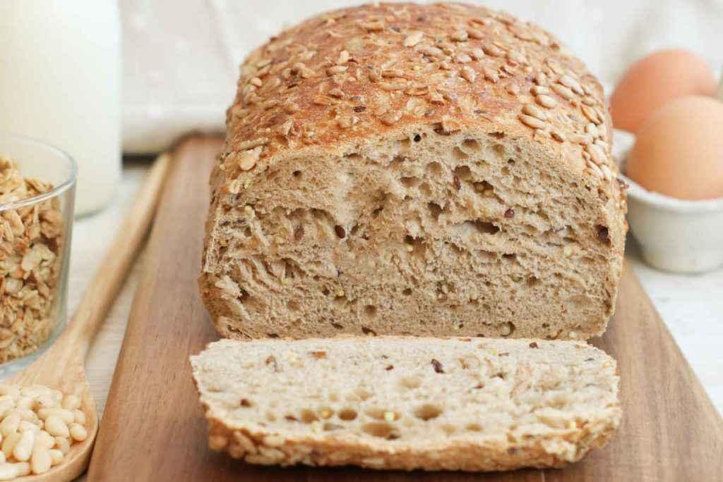 pane di quinoa e riso