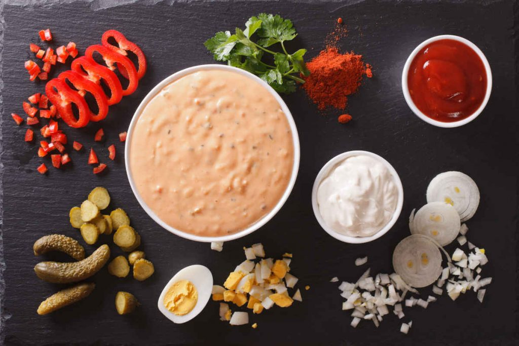 salsa thousand island