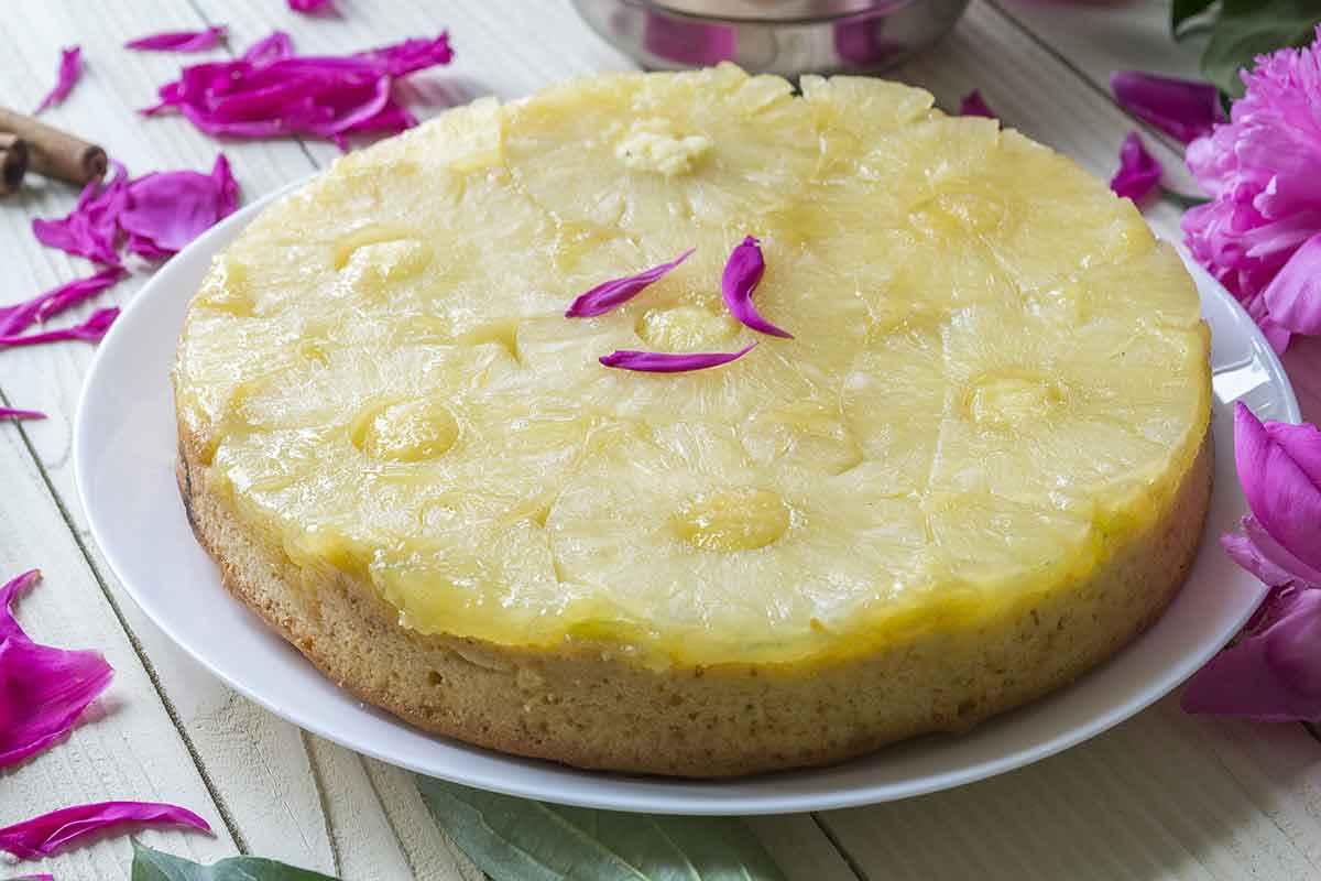 Torta Tatin all'ananas