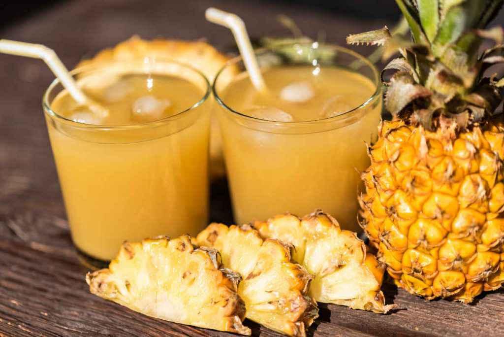 cocktail ananas e zenzero