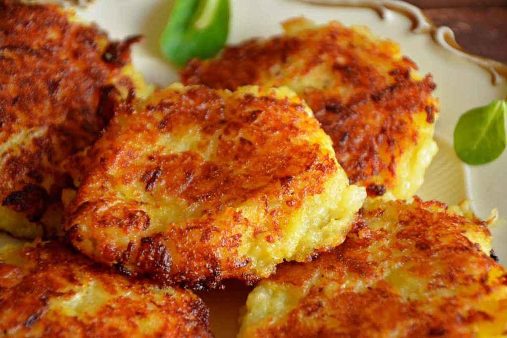 frittelle salate di patate