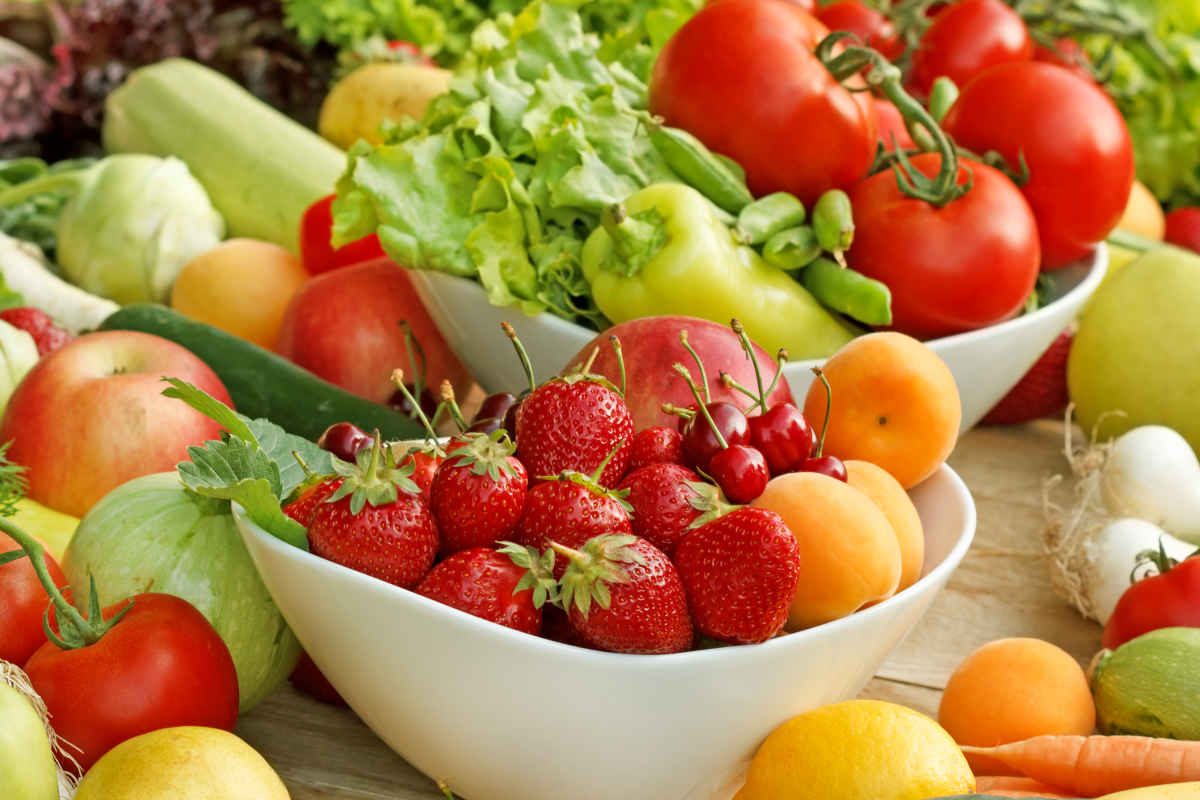 frutta e verdure di stagione per la spesa di maggio