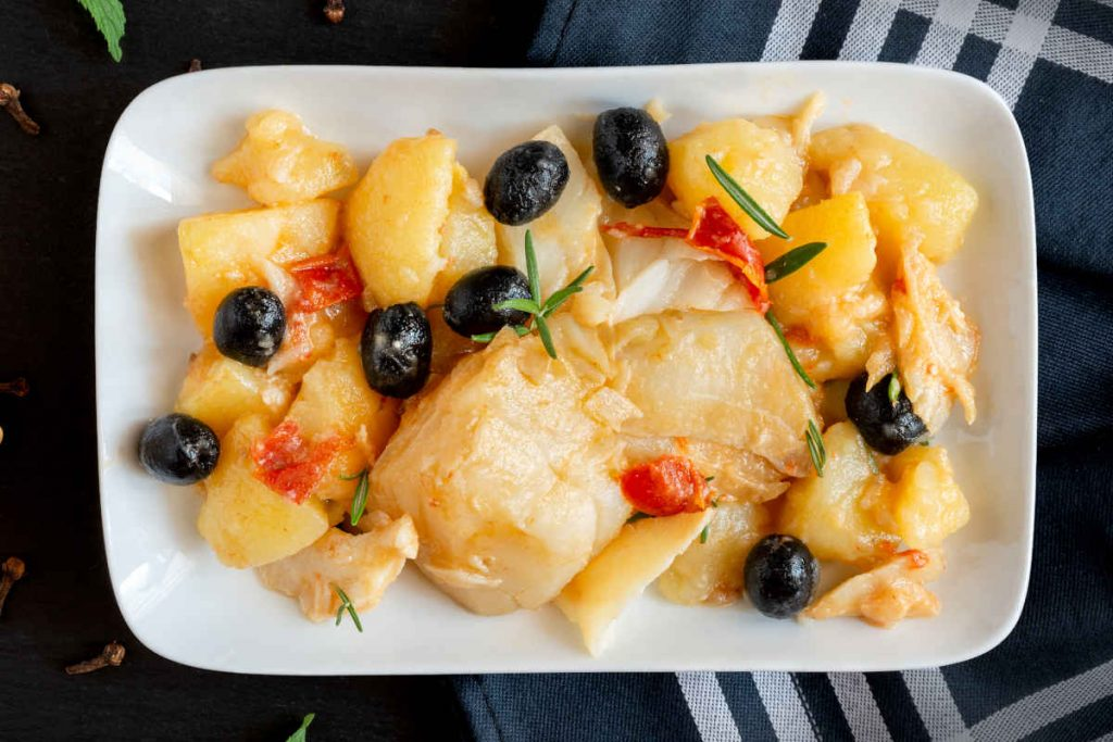 stocco e patate alla calabrese