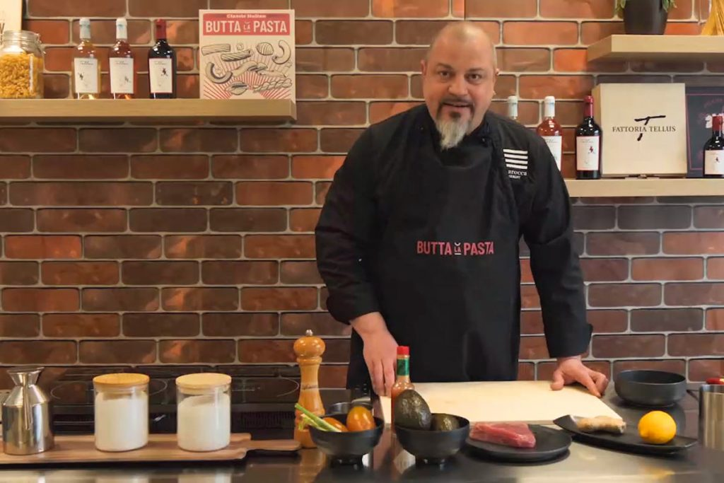 Chef Giangiacomo Blesio