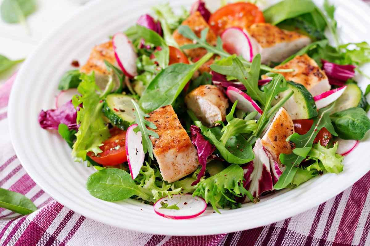 come fare insalata di pollo perfetta
