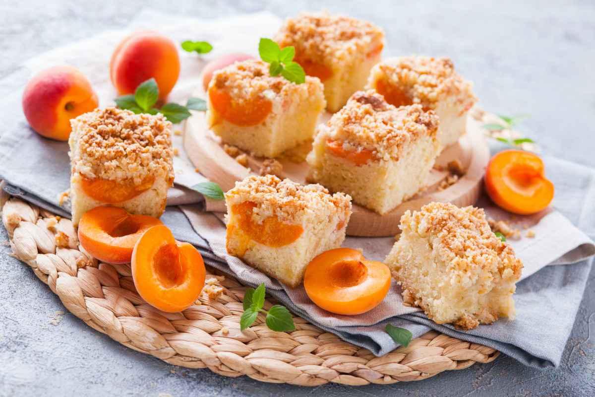 dolci estivi torte estive con albicocche