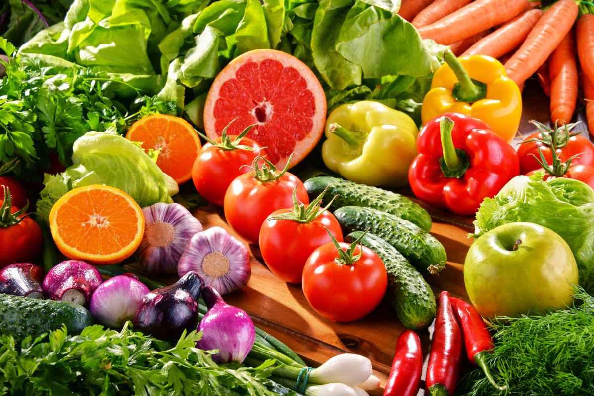 frutta e verdure stagione luglio per la spesa