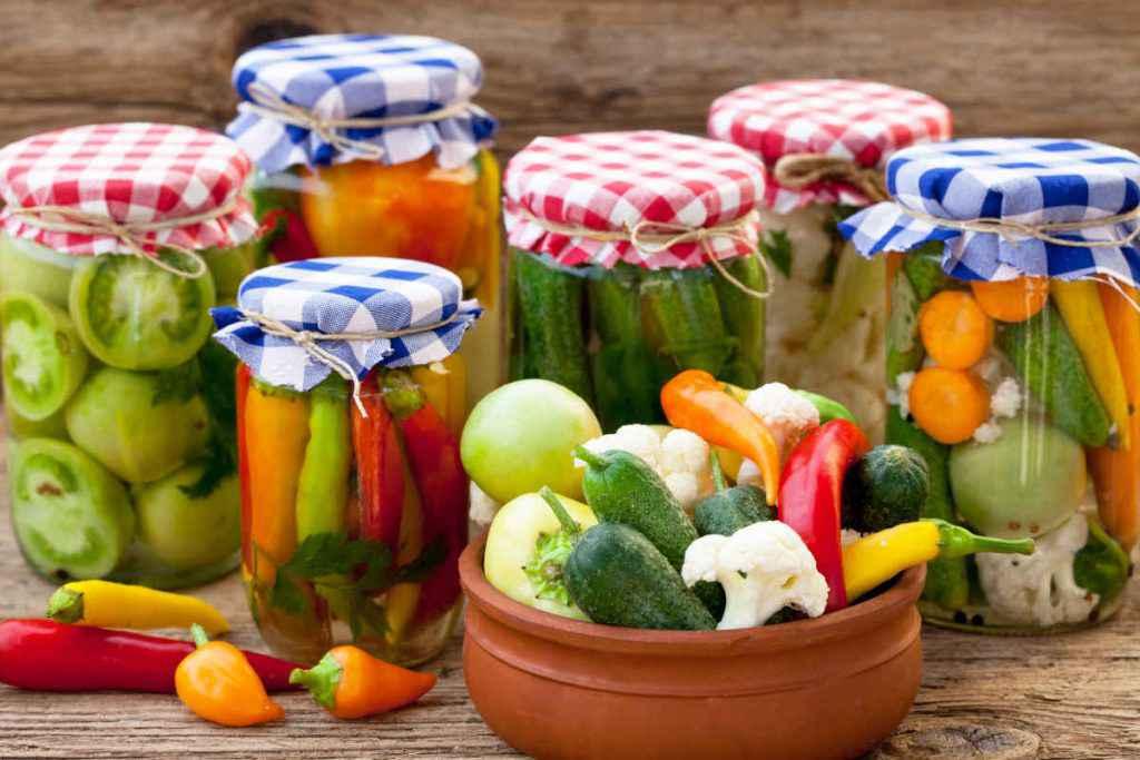 giardiniera di verdure