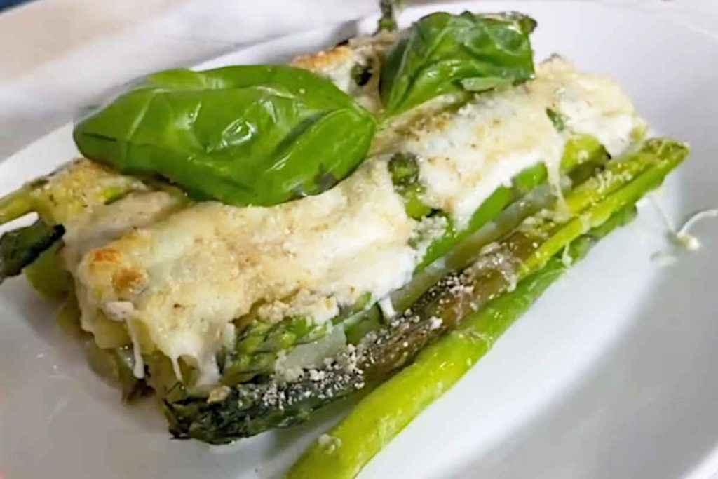 parmigiane sfiziose, la ricetta con asparagi di casabaio