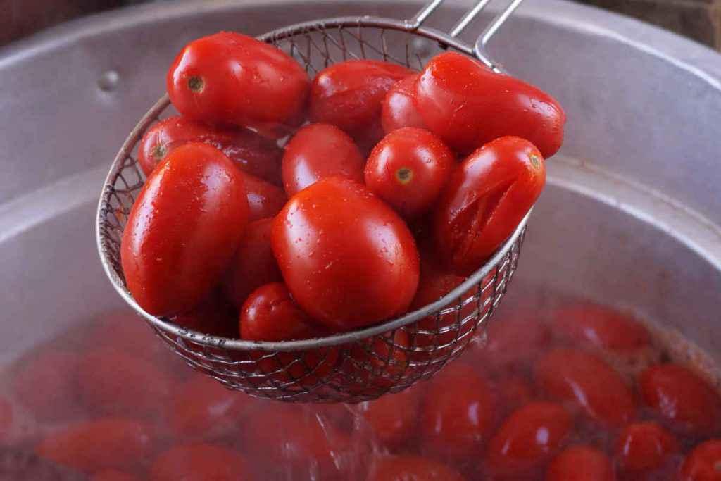 pomodori da conserva in cottura