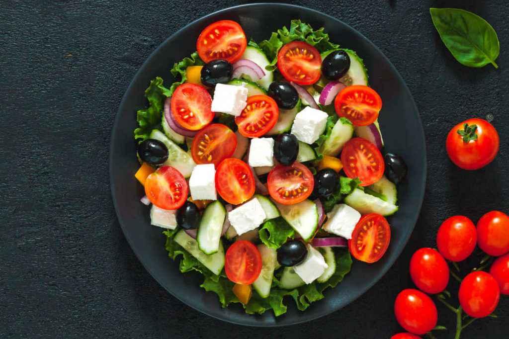 insalata pomodori feta zucchine secondi piatti estivi