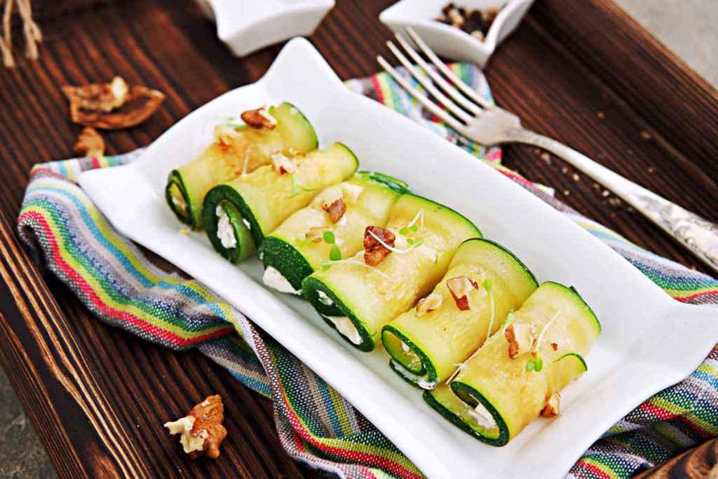 involtini di zucchine e ricotta