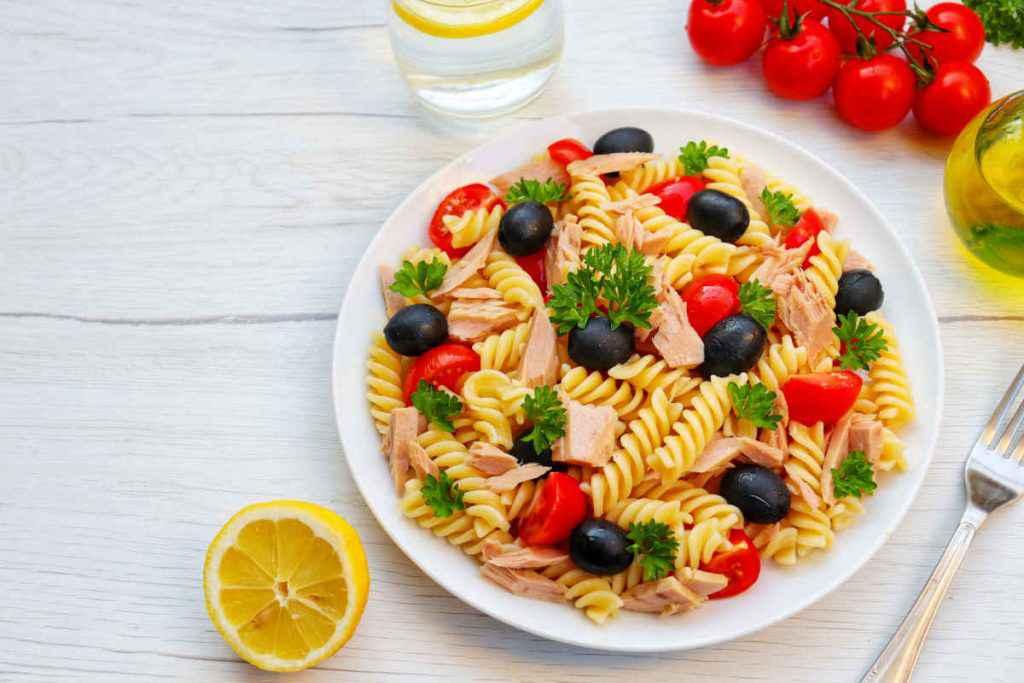 pasta tonno e olive