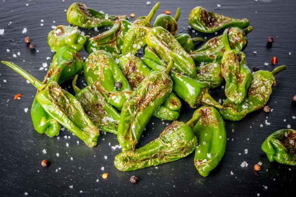 peperoni verdi al forno