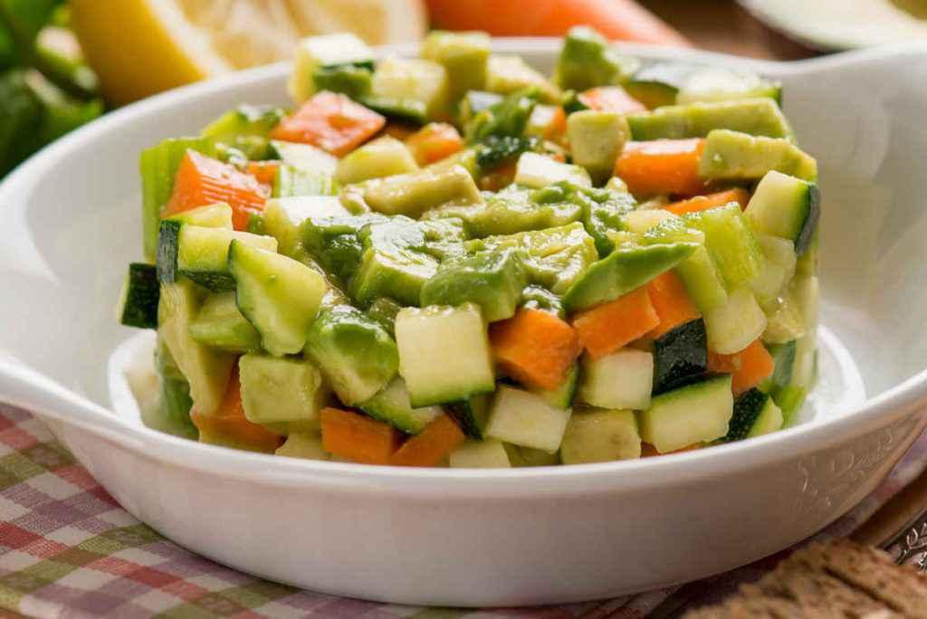 sformato freddo di zucchine