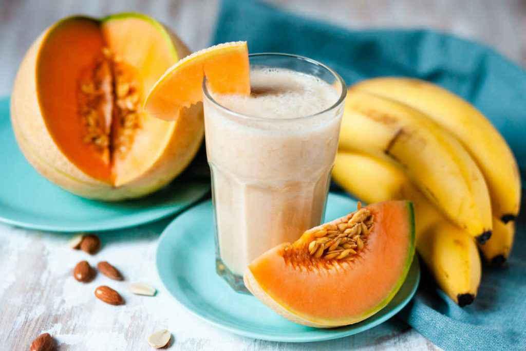 smoothie melone e banana