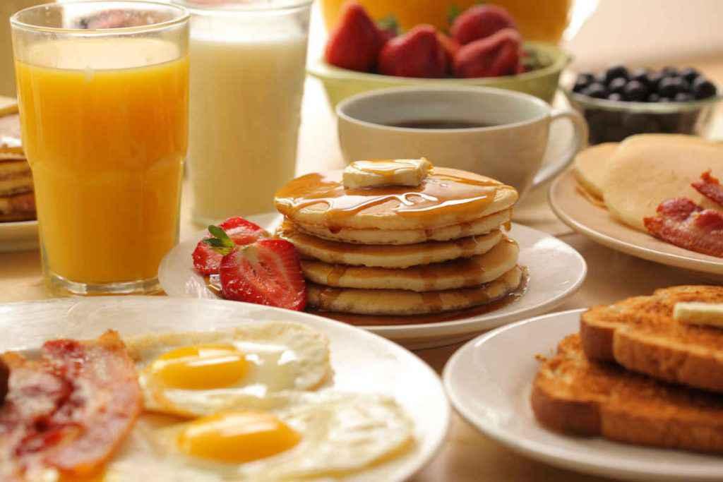 piatti tipici della colazione americana