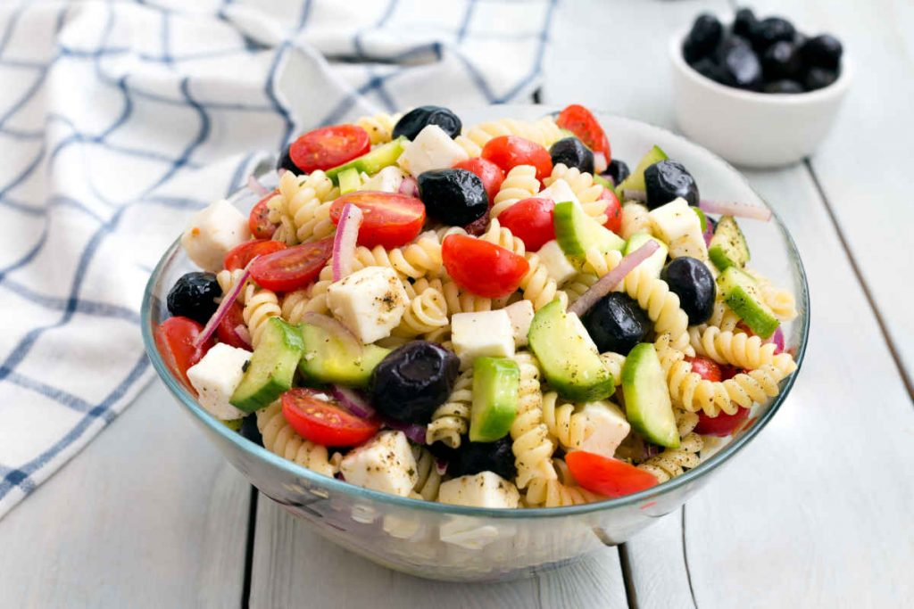 insalata greca con pasta