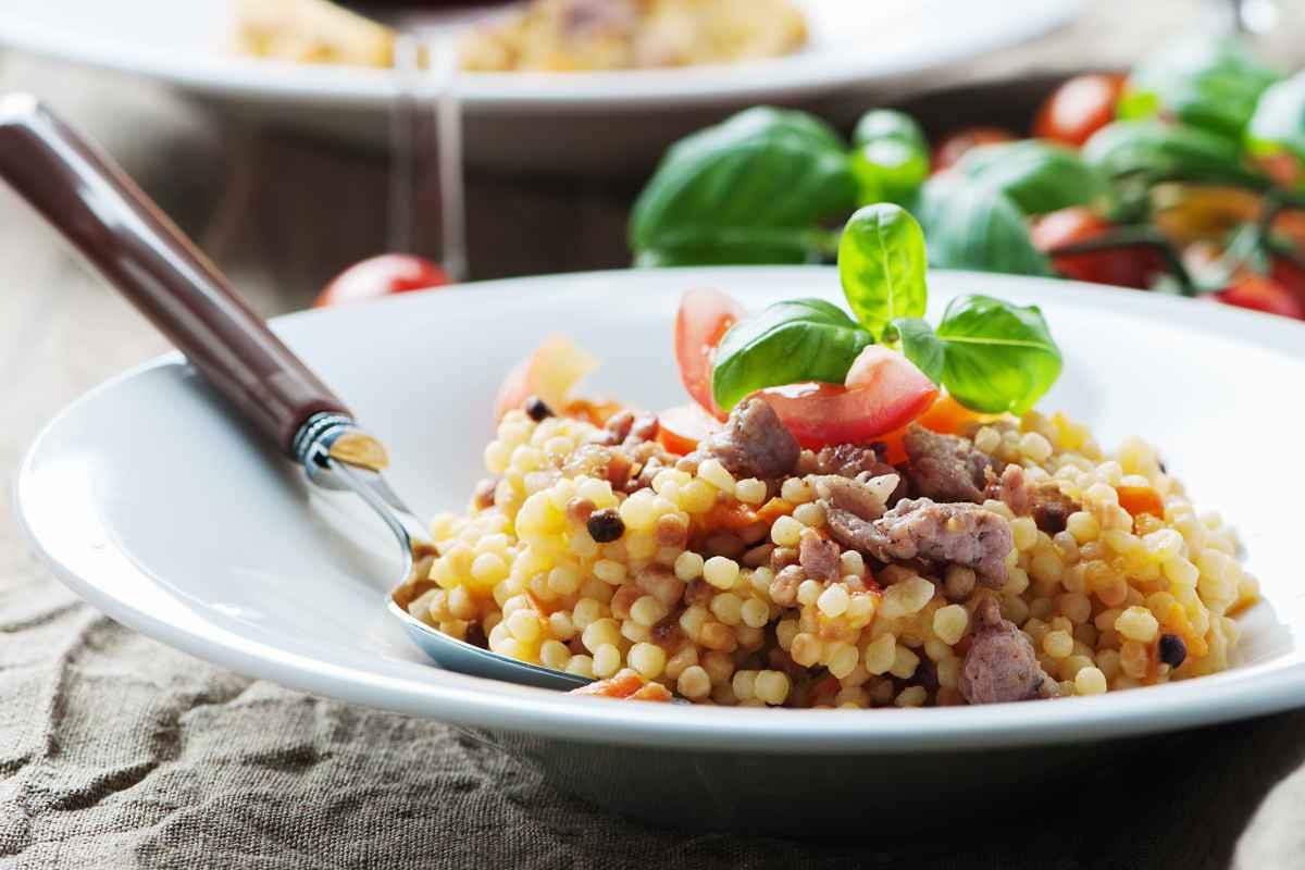 fregola, uno dei primi piatti della cucina sarda