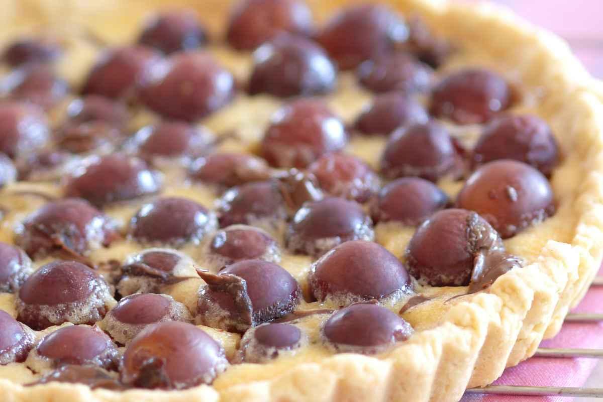 Crostata di uva