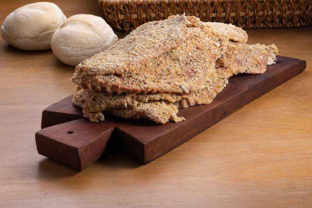 fettine di carne panata per le cotolette