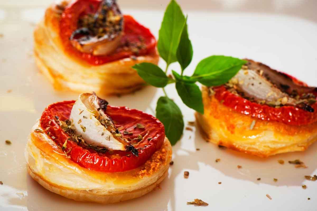 pizzette con verdure per gli lantipasti vegetariani facili veloci e sfiziosi
