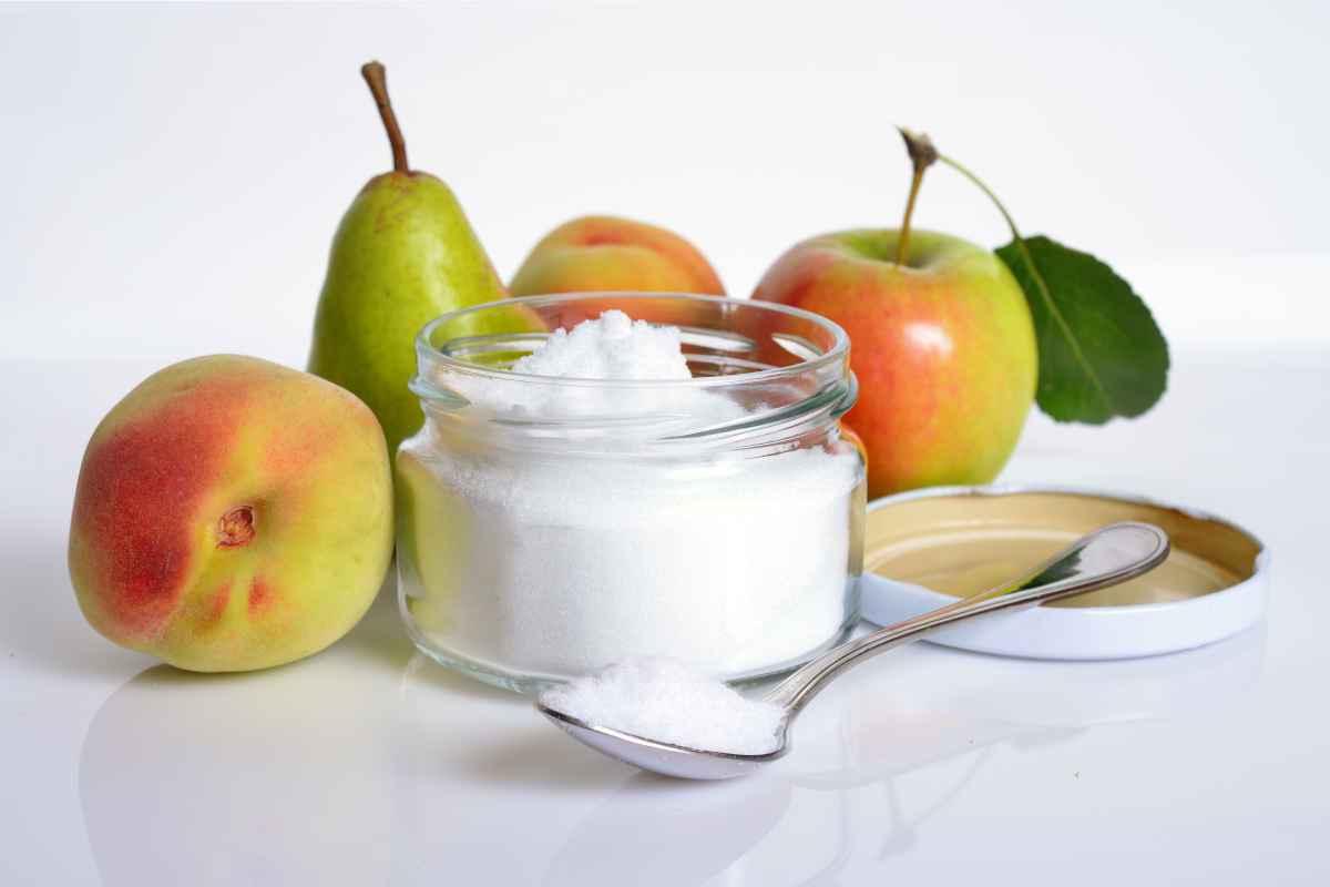 dolcificanti naturali da usare al posto dello zucchero, fruttosio