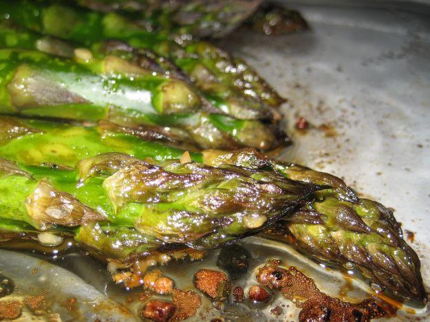 Asparagi gratinati al forno con speck