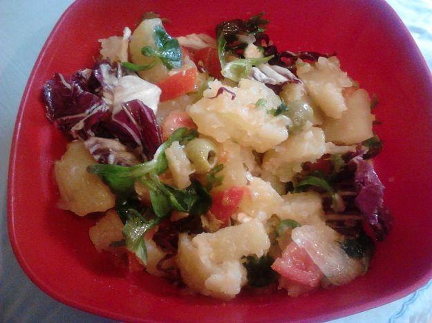 Radicchio e patate