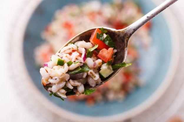 Insalata di riso con salumi