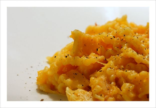 Pasta, patate e provola napoletana