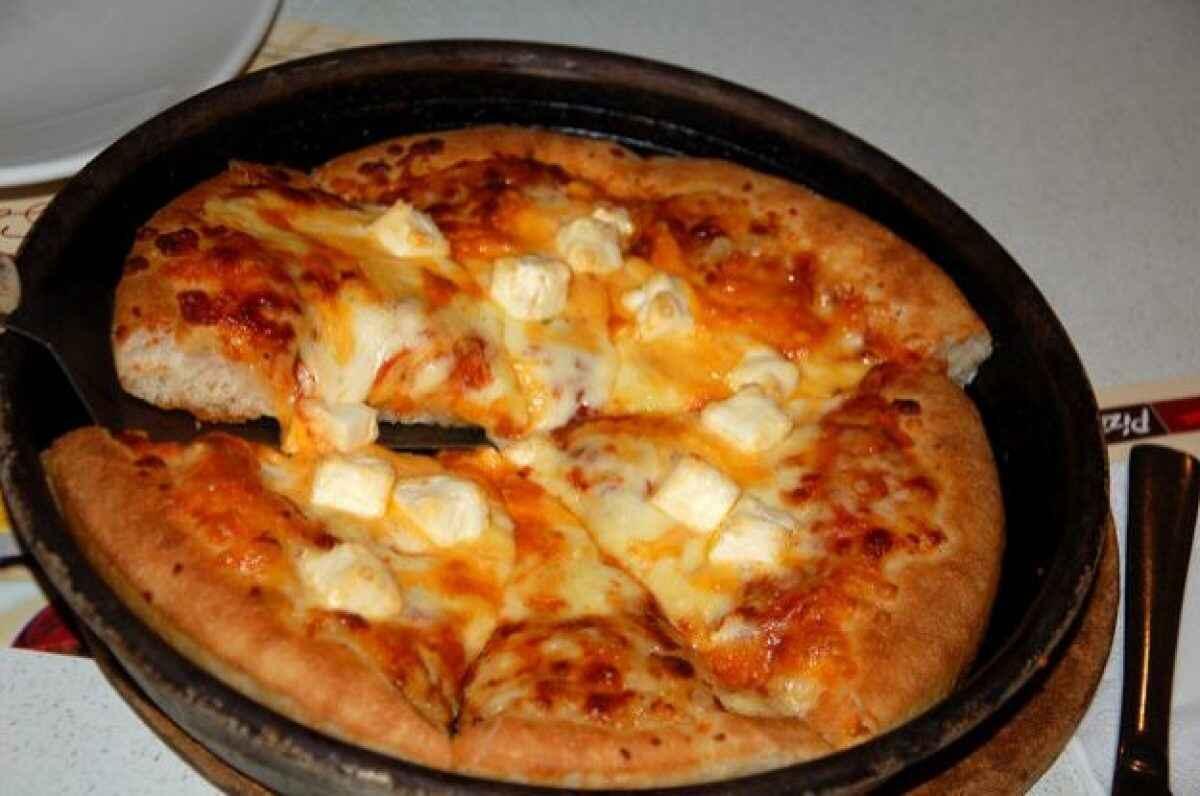 Ricetta Pizza In Padella.Pizza Cotta In Padella Buttalapasta