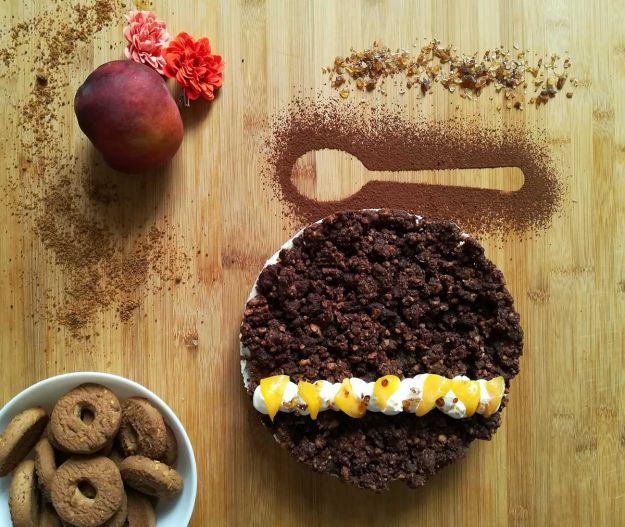 Torta sbriciolata al cacao