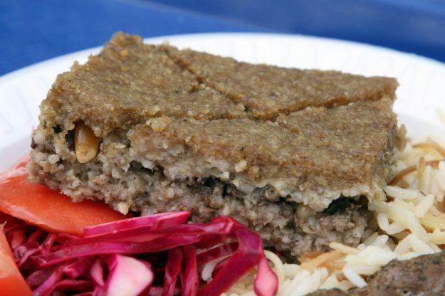 Agnello kibbee (piatto libanese)