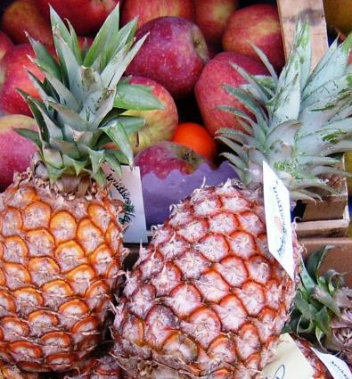 Ananas al limoncello