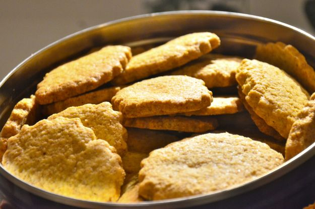 Biscotti integrali senza zucchero