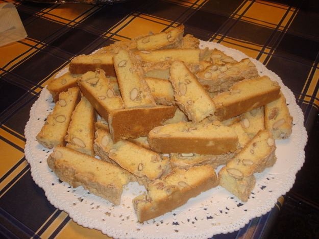 Biscotti con mandorle e zenzero