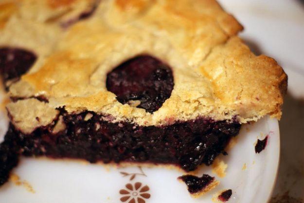 Blueberry pie (torta di mirtilli americana)