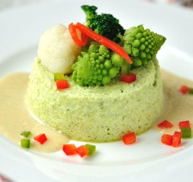 Flan di broccoletti