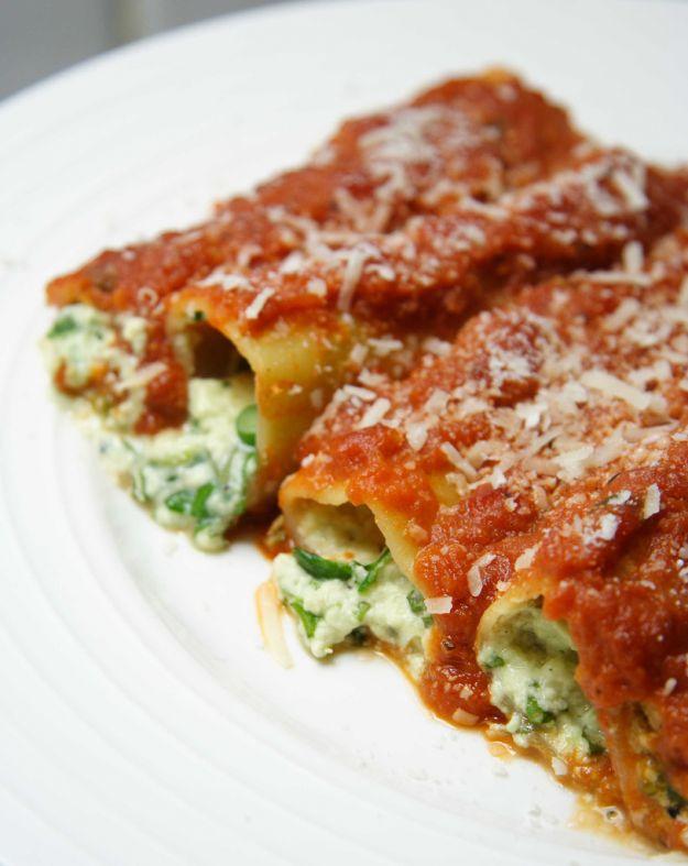 Cannelloni tricolore