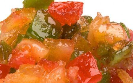 carpaccio arance frutta candita