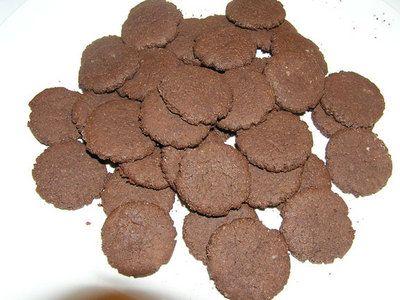 cialde di cioccolato