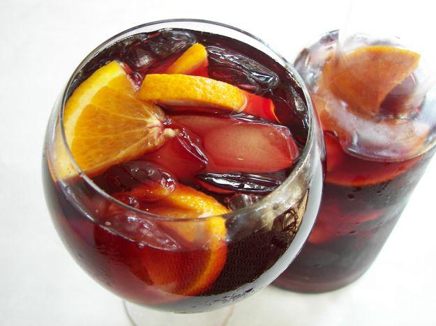 Cocktail al vino rosso