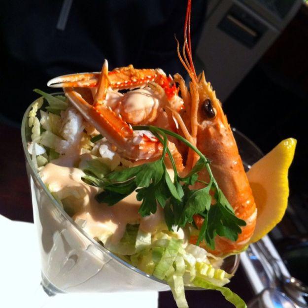 Cocktail di scampi e aragosta
