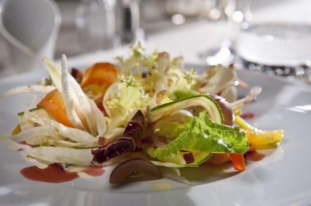 Cocktail di verdure con maionese leggera