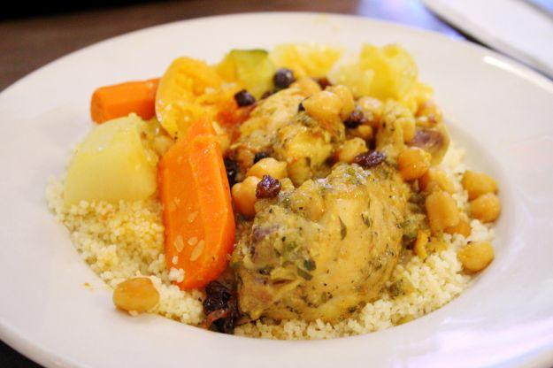 Cous cous di pollo al curry con carote