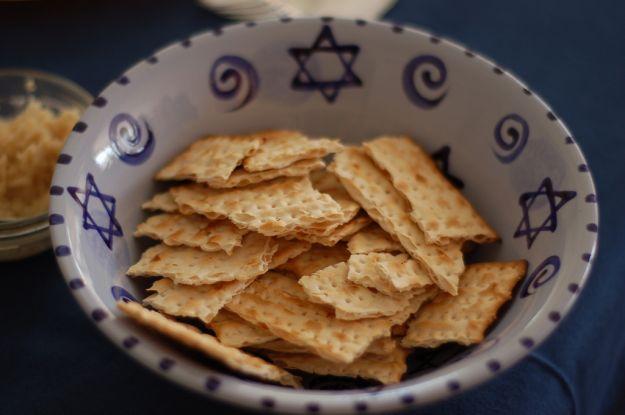 Crackers di pane azzimo
