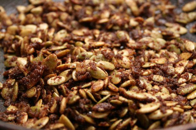 Croccante di semi di zucca